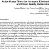 Active Power Filters for Harmonic Elimination and Power Quality Improvement