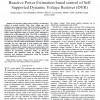 (Reactive Power Estimation based control of Self Supported Dynamic Voltage Restorer (DVR