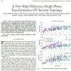 توپولوژی اینونتور PV فاقد مبدل تک فاز جدید با بازده بالا