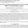 شبیه سازی مقاله Active Power Exchange in Distributed Power-Flow Controller (DPFC) At Third Harmonic Frequency