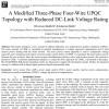 شبیه سازی مقاله A Modified Three-Phase Four-Wire UPQC Topology with Reduced DC-Link Voltage Rating
