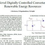 روش جدید دیجیتالی مبدل کنترل شده برای منابع انرژی تجدید پذیر