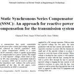 جبرانساز سری سنکرون استاتیک (SSSC): یک روش برای جبران توان راکتیو برای سیستم انتقال
