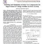 مدلسازی و شبیه سازی از جبرانساز استاتیک وار برای بهبود پایداری ولتاژ در سیستم های قدرت