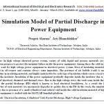 مدلسازی ساز و کارهای تخلیه جزئی در ماده دی الکتریک جامد