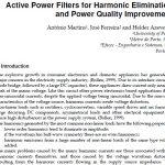 بهبود کیفیت توان و از بین بردن هارمونیک ها به کمک فیلتر اکتیو توان