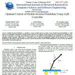 کنترل بهینه پاندول معکوس دوبل با استفاده از LQR کنترل سندیپ