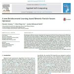 یکی از جدیدترین ابزارهای تقویت یادگیری بر اساس بهینه ساز PSO