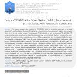 طراحی STATCOM برای بهبود سیستم های قدرت پایداری