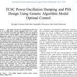 میرا کنندگی نوسان توان با TCSC و طراحی کنترل کننده بهینه با استفاده از الگوریتم ژنتیک
