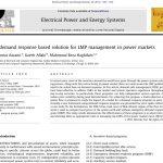راه حل مبتنی بر پاسخ به تقاضا برای مدیریت LMP در بازار برق