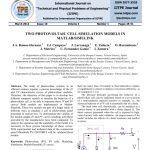 مدل شبیه سازی دو سلول فتوولتاییک در نرم افزار MATLAB / SIMULINK