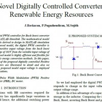 A Novel Digitally Controlled Converter for Renewable Energy Resources