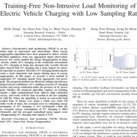 شبیه سازی مقاله Training-Free Non-Intrusive Load Monitoring of Electric Vehicle Charging with Low Sampling Rate
