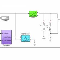 شبیه سازی مبدل بوست با ابر خازن و کنترلر PI
