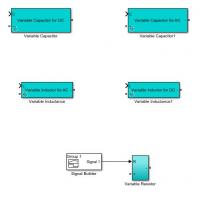 دانلود رایگان شبیه سازی مقاومت، سلف و خازن متغیر