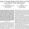 شبیه سازی مقاله Design of Unsharp Masking Filter Kernel and Gain using Particle Swarm Optimization