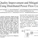 مطالعه موردی افزایش و کاهش کیفیت نیرو بااستفاده از کنترلر پخش توان پراکنده