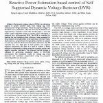 ارزیابی توان راکتیو مبتنی بر کنترل ساپورت درونی بازگردان دینامیکی ولتاژ (DVR)