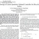 طراحی کنترل بهینه خطی درجه دوم برای ربات دوچرخه