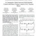 بررسی مقایسه ای بین کنترل میدان جهت دار و کنترل گشتاور مستقیم یک موتور AC وسیله نقلیه