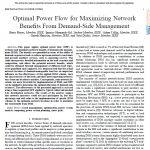 پخش بار بهینه برای به حداکثر رساندن سود شبکه از مدیریت سمت تقاضا