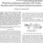 ژنراتور القایی درایو بادی با رکتیفیر وینا و PV برای ژنراتور های ایزوله ترکیبی
