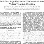 مبدل دو مرحله ای Buck-Boost جدید با عملکرد گذار ولتاژ صفر