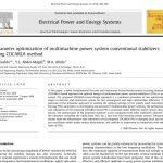 بهینه سازی پارامتر های تثبیت کننده مرسوم سیستم قدرت چند ماشینه با استفاده از روش CDCARLA