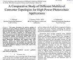 یک مطالعه بررسی توپولوژی چندین مبدل مختلف برای کاربرد فتوولتائیک توان بالا