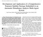 توسعه و کاربرد یک بسته پایدار گذرای جامع تعبیه شده در سیستم چندعاملی آنالیز اختلال خودکار